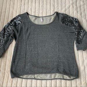 Sparkle sweater shirt